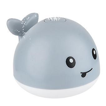 11X10cm szary 1szt wanna czajka ręczna automatyczny czujnik wody rozpylanie czajki wielorybów elektryczne oświetlenie prysznic nie bateria (szary) dt2616
