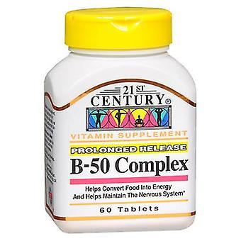 21st Century B-50 Complex Prolonged Release, 60 Tabs