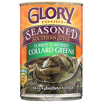 Glory Foods Greens Collard Smkd Trky, Case of 12 X 14.5 Oz