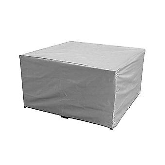 Garden Waterproof Cover Chair Table Dustproof Cover Courtyard Waterproof Cover Silver Dustproof Cover (213x132x74cm)