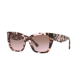 Valentino VA4048 509814 Pink Havana/Gradient Brown Pink Sunglasses