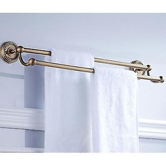 Solid Messing Badeværelse Tilbehør Basket ToiletPapir Bar Rack Bath Hardware|bathroom Tilbehør