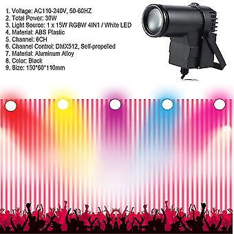 30w / Rgbw / Led-dmx512 Сценический свет Струна Тип Прожектор Вечеринка Открытый свет