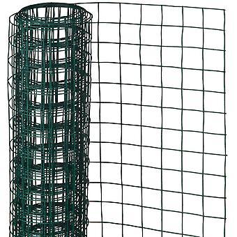 Naturnättråd 0,5x2,5m 13mm plastbelagd stål