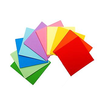 50 Sheets of 5 Inch (125mm) Assorted Coloured Origami Paper