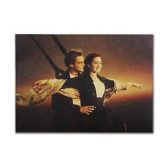 Tijdschriften kranten titanic rose jack vintage kraft papier klassieke film poster home / cafe bar