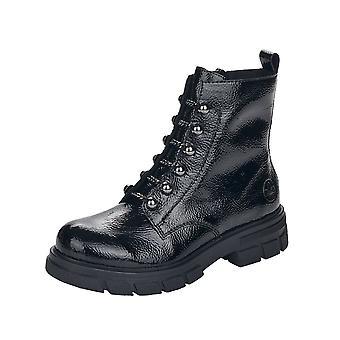 Rieker Z9162-00 Lagro nilkka saappaat musta