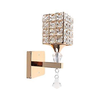 Modern Wall Lamp Simple Creative Bedside Crystal Wall Lights Sconce Wall Light