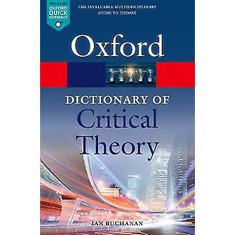 A Dictionary of kritische theorie