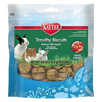 Kaytee Timothy Biscuit Treat Baked with Apple For Dental Health Support  - 4 oz