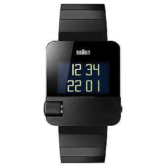 Braun Men's     prestige   digital Pulsera negra BN0106BKBTG Reloj