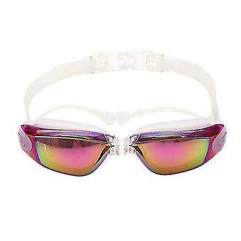 Unisex Optische Schwimmbrille (Lila)