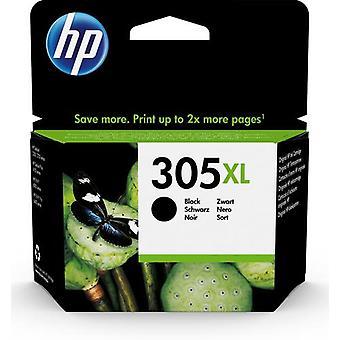 HP 305XL svart originalbläckpatron med hög kapacitet, Hög (XL) avkastning, Pi