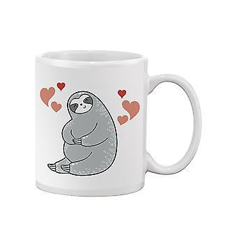Lovely Sloth Sitting Mug -SPIdeals Designs