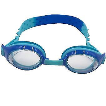 Schwimmbrille Wasserdicht Anti-Beschlag Schwimmbrille Kinderschutz (Blau)