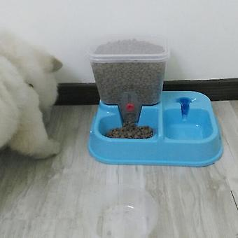 מתקן מים מים קערת מזון לחיות מחמד פלסטיק מתכוונן התקן שתייה אוטומטי