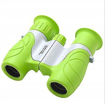 Children's Telescope Binoculars Outdoor Telescope Children's Outdoor Toy, 10x22 Green