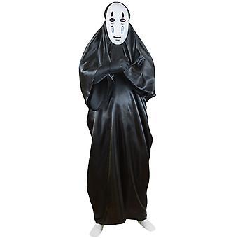Spirited Away No Face Man Cosplay Costume Men Halloween Fancy Dress