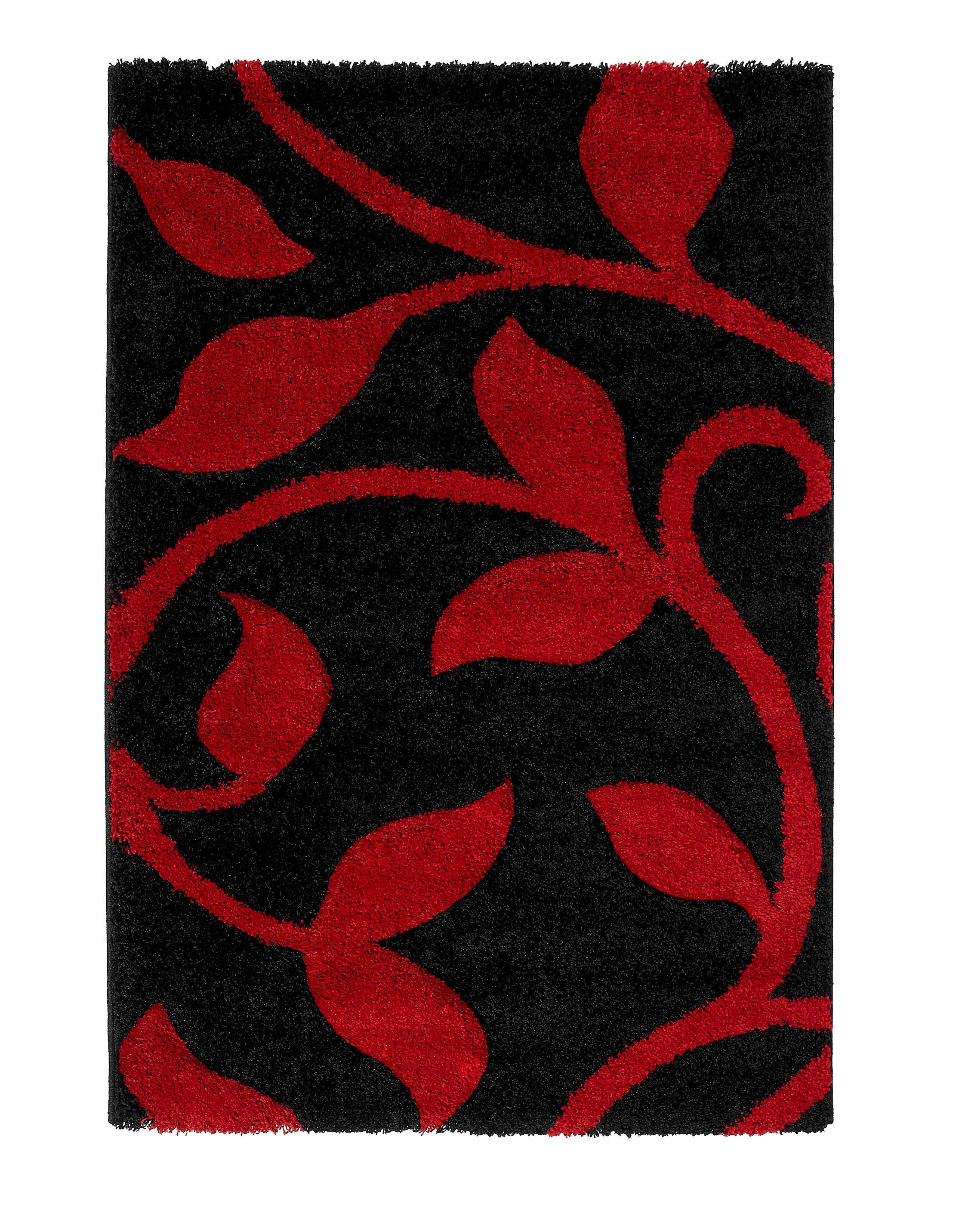 think rugs avoca elegant carved floral design red