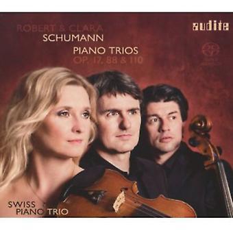 Schumann, R./Schumann, C. - Robert & Clara Schumann: Piano Trios, Op. 17, 88 & 110 [SACD] USA import