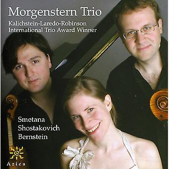 Smetana/Shostakovich/Bernstein - Morgenstern Trio Plays Smetana, Shostakovich, Bernstein [CD] USA import