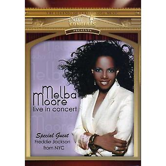 Melba Moore - Live in Concert [DVD] USA import