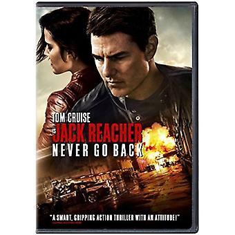 Jack Reacher: Gå aldrig tillbaka [DVD] USA import
