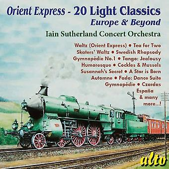 Iain Sutherland - Orient Express-20 Light Classics [CD] USA import
