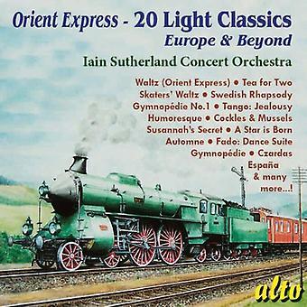 Iain Sutherland - importación de USA de Orient Express-20 luz clásicos [CD]
