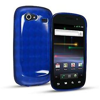 Slider Skin Case for Samsung Nexus S (Blue)