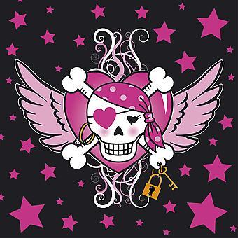 Partido de los de niños servilleta niña de Pirata fiesta de cumpleaños 20 pieza infantil