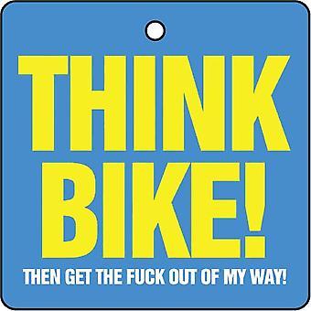 Denke Fahrrad Auto Lufterfrischer