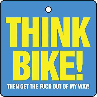 Denk dat fiets auto luchtverfrisser