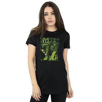 The Wizard Of Oz Women's Wicked Witch Logo Boyfriend Fit T-Shirt