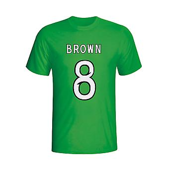 Scott Brown Celtic Hero T-shirt (green)