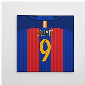 برشلونة عام 2016-2017 قماش الطباعة (كرويف 9)