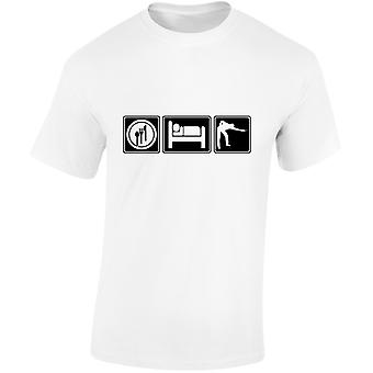 Eat Sleep Snooker Mens T-Shirt 10 Colours (S-3XL) by swagwear