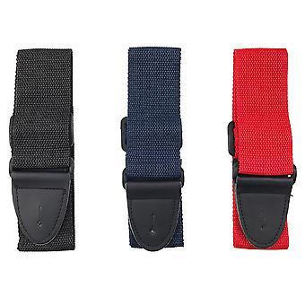 Rocket Nylon Guitar Strap - Navy Blue, Black or Red