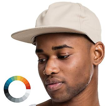 Cap 5 Panel unstructured Snapback Cap
