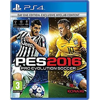 Pro Evolution Soccer 2016 dag 1 Editie (PS4)-nieuw