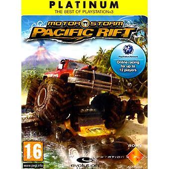 MotorStorm Pacific Rift-Platinum Edition (PS3)-fabriek verzegeld