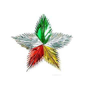Blatt-Starburst-Dekoration