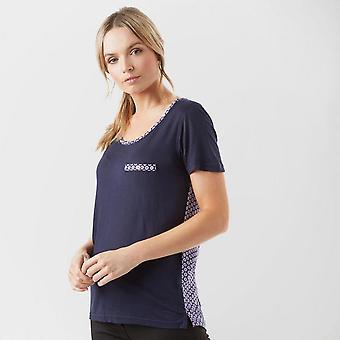New Regatta Women's Short Sleeve Round Neck Alaina T-Shirt Navy