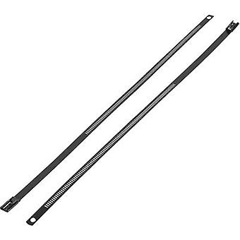 KSS ASTN-450 ASTN-450 Cravată cablu 450 mm 7 mm Negru acoperit 1 buc.