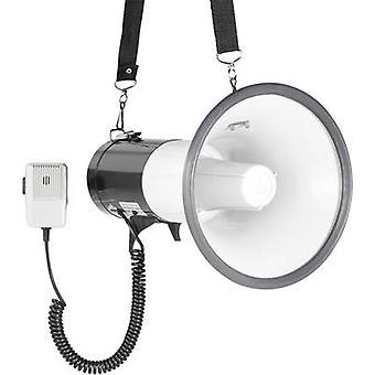 SpeaKa Professional JE-583 Megaphone + microphone, + strap, Built-in sound effects