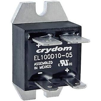 Crydom SSR EL100D10-24 Current load (max.): 10 A Switching voltage (max.): 100 V DC Zero crossing 1 pc(s)