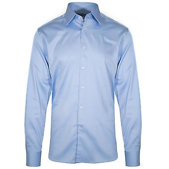 CC Collection Corneliani Sky Blue Long Sleeve Shirt