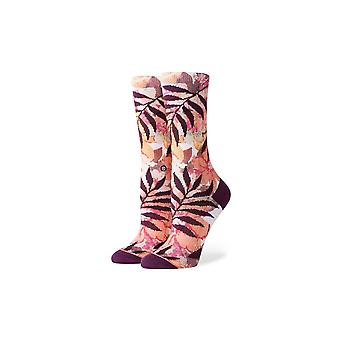 Stance Journey To Venus Crew Socks in Off White