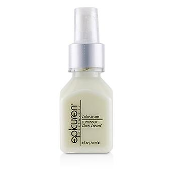 Creme de brilho luminoso de colostro Epicuren - para seca Normal e combinação de tipos de pele - 60ml/2oz