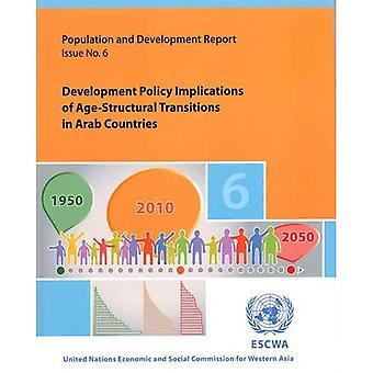 Befolkning och utvecklingsrapport: utveckling policyimplikationer av ålder-strukturella övergångar i arabiska länder